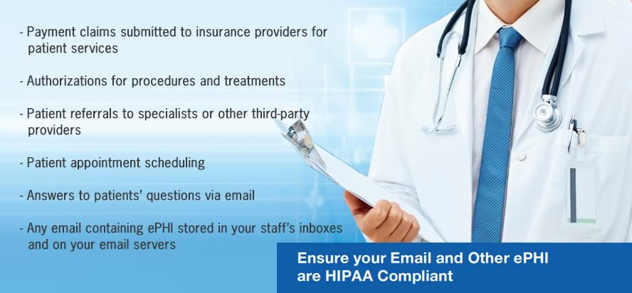 HIPAA Compliance Email Security